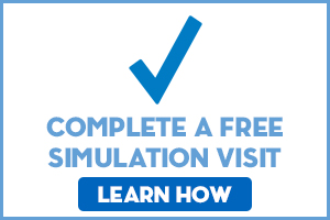 Complete a free simulation visit, learn how