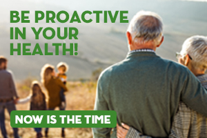 Be Proactive In Your Health!